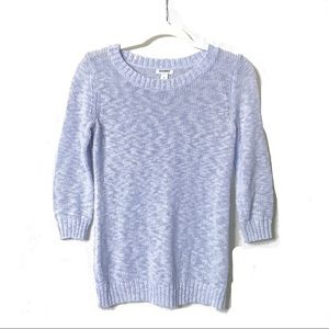 Old Navy | Periwinkle 3/4 Sleeve Sweater | S